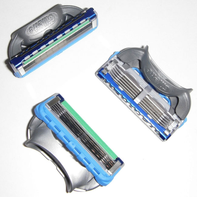 Gilette Cartridge Razors