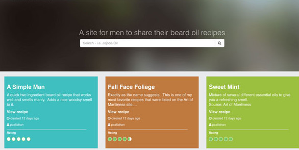 Beard Oil Recipes List of Different Types of Homemade Recipes