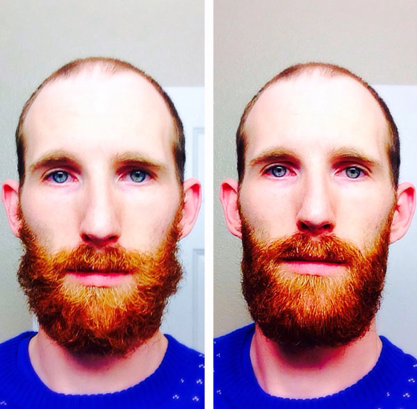 Reddit Beard Oil Before and After