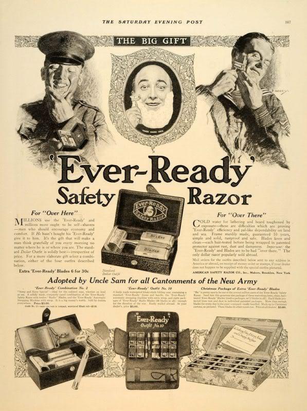 Old gillette ad