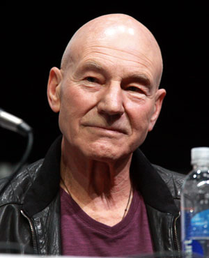 Patrick Stewart - Bald Famous People