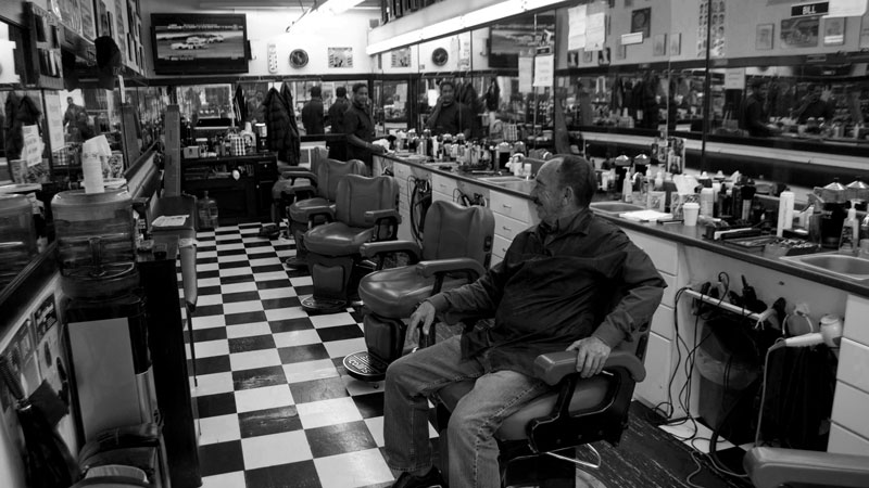 Visiting the Barber Shop