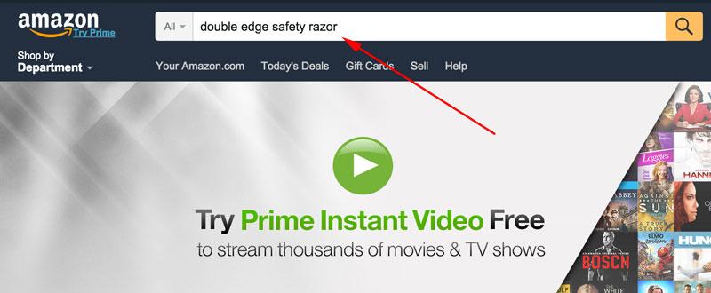 double edge safety razor - amazon